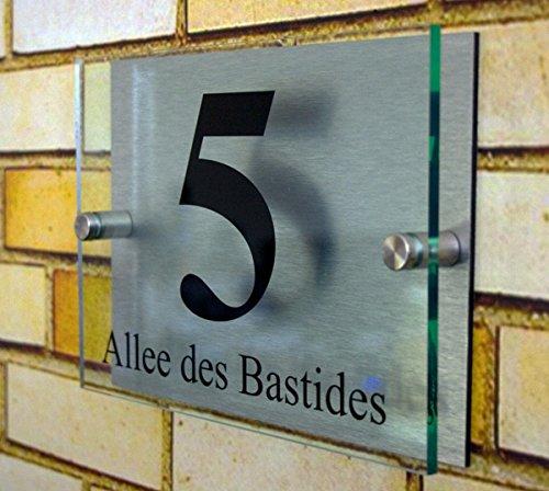 Hausnummernschild aus Acrylglas - 5