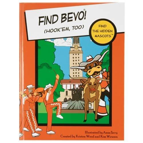 Texas Longhorns Find the Hidden Mascots, gebundenen Buchs