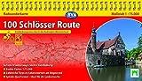 Kompakt-Spiralo BVA 100 Schlösser Route Radwanderkarte 1:75.000 mit Begleitheft, wetter- und reißfest, GPS-Tracks Download: Entdeckungsreise durch die Radregion Münsterland -