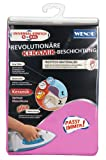 Wenko 1160992500 Bügeltischbezug Universal Keramik - Hightech Hitzereflexion, Easy Glide, Universalgröße für S bis XXL, rosa