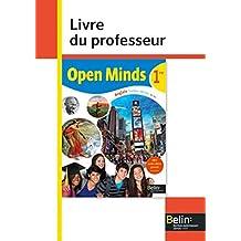 Open Minds 1re : Livre du professeur