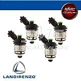 LPG-Anlage, 4Original Injektoren von Landi Renzo, grüne Kappen, Art.55240715237123000