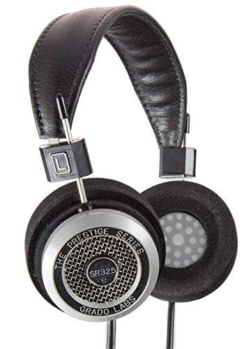 Grado Labs SR325E auricular - Auriculares (Circumaural, Diadema, 22 - 24000 Hz, Alámbrico, Negro, Cuero)