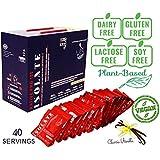 [Sponsored]LifeRoots Native ISOLATE PRO 100 Sport Plant-based Nutrition- Protein Powder (40 Sachet ) Classic Vanilla 1280...