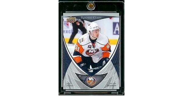 bb454c4c2c3 ... Jersey 200708 Upper Deck Rookie Hockey Card 16 Frans Nielsen Mint  Condition Amazon.co.uk ...