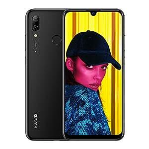 Huawei P Smart 2019 64 GB 6.21-Inch 2K FullView Dewdrop SIM-Free Smartphone with Dual AI Camera, Android 9.0, Single SIM, UK Version - Black