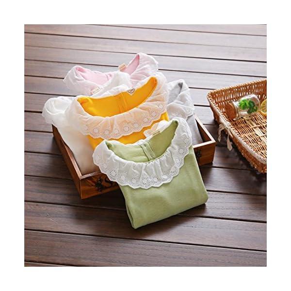 Amlaiworld Bebé Niñas Moda Casual Volantes Camisetas Tapas Blusa Ropa 2