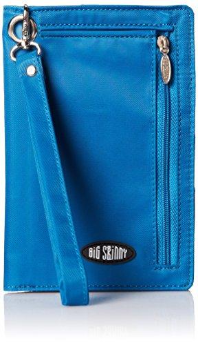 Big skinny da donna, taglie forti Myphone bi-fold Slim in pelle, può contenere fino a 20biglietti, Ocean Blue Ocean Blue