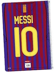 F.C. Barcelona Libreta de tapas duras 80h