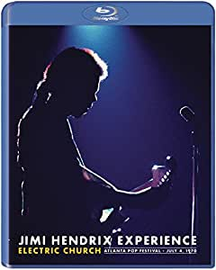 Jimi Hendrix Experience : Electric Church (talanta Pop Festival, July 4, 1970) [Blu-ray] [Import italien]
