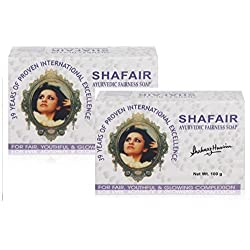 Shahnaz Husain Shafair Ayurvedic Fairness Soap, 100g (Pack of 2)