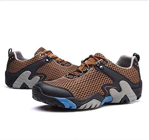 Z&HX sportsCalzature sportive estive scarpe casual scarpe da uomo calzature scarpe da escursione esterna Brown