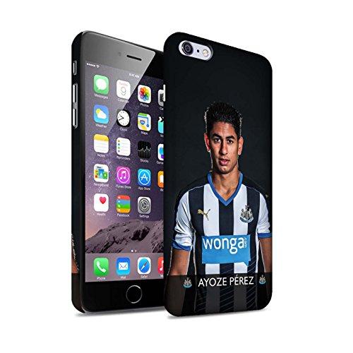 Offiziell Newcastle United FC Hülle / Matte Snap-On Case für Apple iPhone 6+/Plus 5.5 / Pack 25pcs Muster / NUFC Fussballspieler 15/16 Kollektion Ayoze
