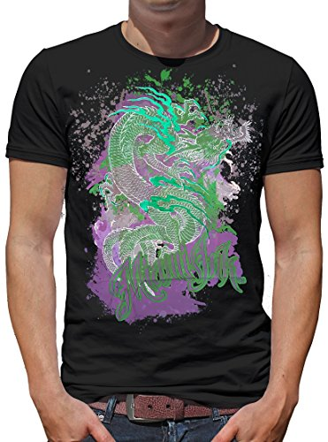TLM Miami Ink - Dragon T-Shirt Herren M -