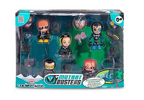 Mutant Busters-700013373-Kasten der Widerstand-5Figuren