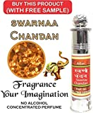 Indra Sugandh Swarnaa Chandan Attar Roll On (With Golden Crystals)