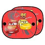 Disney Cars CARS101 Auto-Sonnen-Schutz und Sonnen-Blende für Baby und Kinder, 2 Stück