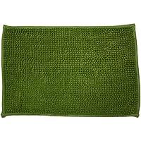 Alfombra Baño/Habitación Microfibra Antideslizante HUGO (Verde)