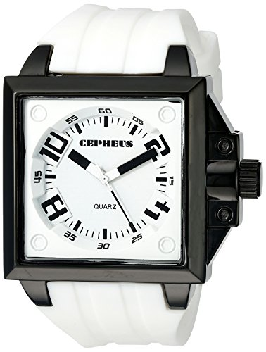 CEPHEUS Herren-Armbanduhr Analog Quarz Silikon CP904-676