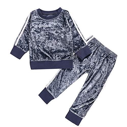 Mädchen Kleidung Set,Beikoard Kindermode Outfit Langarm T-Shirt Oberseiten Hose Outfits Set Herbst Winter Kleidung