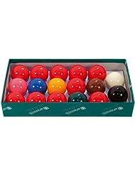 Aramith - Juego de 17 bolas de snooker (50,8 mm)
