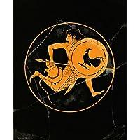 kunstdruck poster griechische vasenmalerei skythes waffenlaufer vasenmalerei hochwertiger druck bild kunstposter