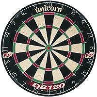 Amazon.com Unicorn Dartboard DB 180 Cible de fléchettes Noir/Blanc/Vert/Rouge -