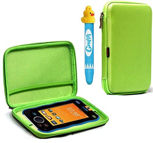 Navitech Schutz-Hartschale für Kinder-Tablet, Green BS, Vtech DigiGo Kids