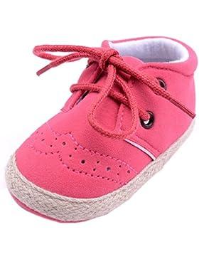 Unisex Baby Sneakers, OverDose Neugeborene Säuglings Baby-Mädchen Jungen Krippe Schuhe Weiche alleinige Anti Rutsch...