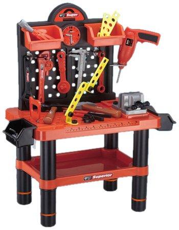 Kinder Werkzeugbank Werkbank Set - 54tlg. thumbnail