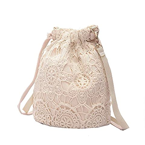 Dame Rucksack Messenger Bag Lace