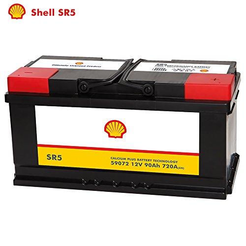 Shell Autobatterie 12V 90Ah SR5 ersetzt 88AH 92AH 95AH 100AH