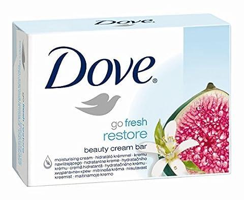 Dove Go Fresh Restore Beauty Cream Bar with 1/4 Moisturising
