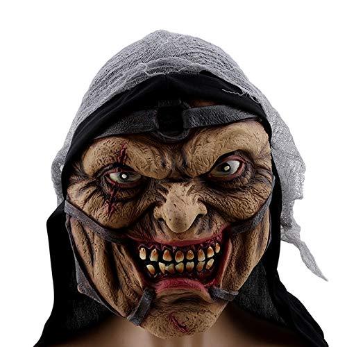 Kostüm Assistenten Männliche - KBWL gruselig gruselig kostüm Maske für Erwachsene Party Horror Prop Halloween liefert Halloween Cosplay Halloween Maske assistent