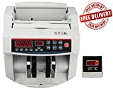 #8: SToK New Rs.500 & Rs.2000 Notes Counting and detecting fake Cash / Bill / Currency/ Money / Note Counting Machine New INR Rs.500 & Rs.2000 Notes Counting and detecting fake with Fake Note Detector & LED Display - 1 Year Warranty - (Compatible with New Currency - 500 & 2000 denomination)