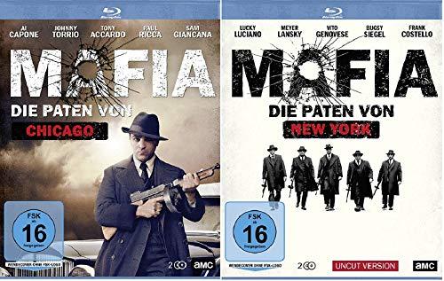 Mafia - Die Paten von Chicago + Mafia - Die Paten von New York [Blu-ray Set]