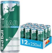 Red Bull Energy Drink, Sugarfree Pear Edition, 250ML (12-pack) 3,33 kg