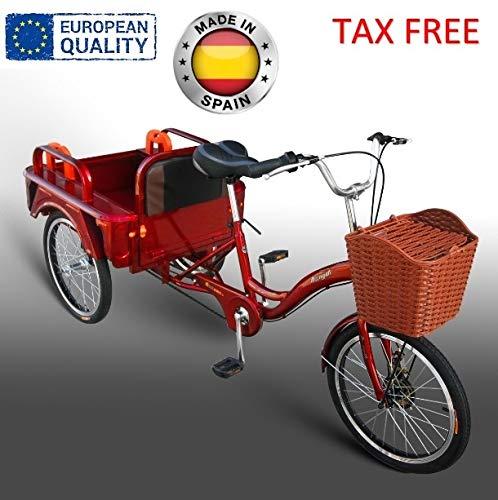 Beer Bike Triciclo eléctrico Adulto 250W 12Ah con almacenaje Disponible en Color...