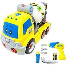 Betoniera Smontabile TG650 – Betoniera Smontabile Giocattolo per Bambini con Trapano funzionante e Componenti Mobili – Giocattolo per bambini e bambine di età compresa fra 3 e 6 anni. È un prodotto ThinkGizmos (Marchio Protetto)