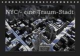 NYC - eine Traum-Stadt (Tischkalender 2019 DIN A5 quer): Eine Bilderserie über New-York-City, in welcher Schwarz-Weiss-Aufnahmen mit ... (Monatskalender, 14 Seiten ) (CALVENDO Orte)