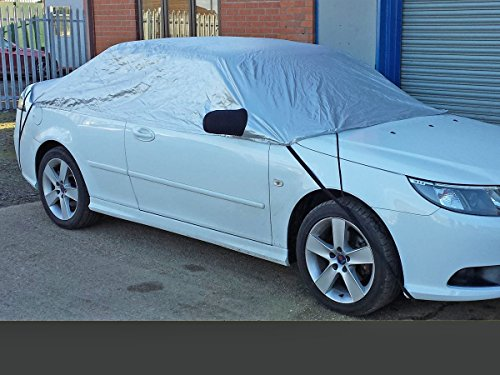 Half Size Car Cover fits Saab 9-3 & Convertible 1998 for sale  Delivered anywhere in Ireland