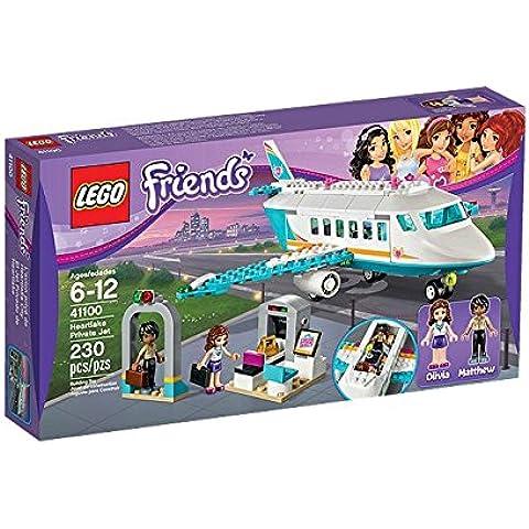 LEGO - El jet privado de Heartlake, multicolor (41100)