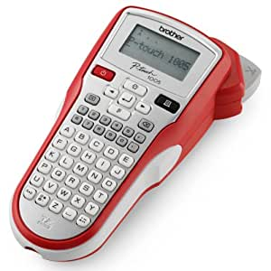Brother P-touch PT 1005 Etiqueteuse portable Rouge