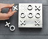 Store Indya, Holz Tic-TAC-Toe & Solitaire Spiel Set 2 in 1 Brettspiele Hand Geschnitzt mit Aufbewahrungsbox (Brown 5)