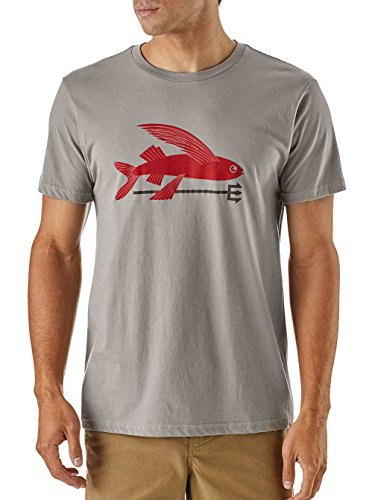 Patagonia Flying Fish T-Shirt Grigio