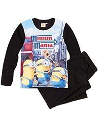 Minions Despicable Me Chicos Pijama polar 2016 Collection - Negro