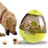 Cibo per Cani Palla,Tatata Giochi Giocattoli Interattivi per Cani Distributore di Cibo Alimentazione per Cani di Taglia Piccola Cani e Gatti di Taglia Media