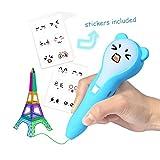 3D Druck Stift Niedriger Temperatur Druck Stift stereo Pinsel Ungiftig Kit mit Emoji Aufkleber Kreative Spielzeug für Erwachsene Kind