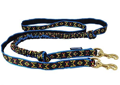 Dogs My Love , bikejoring Skijöring Bungee Hund Line 2,5cm Breit -