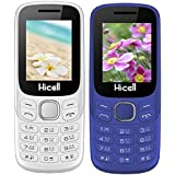 Hicell C9 Metro (Combo Of Two MOBILES) Dual Sim Mobile Phone With Digital Camera And 1.8 Inch Screen (White+DarkBlue)